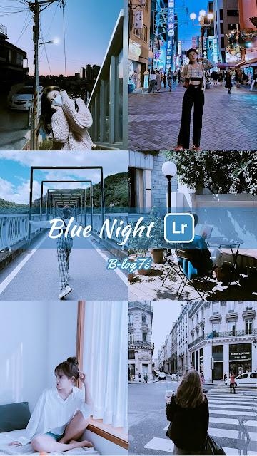 lightroom preset blue