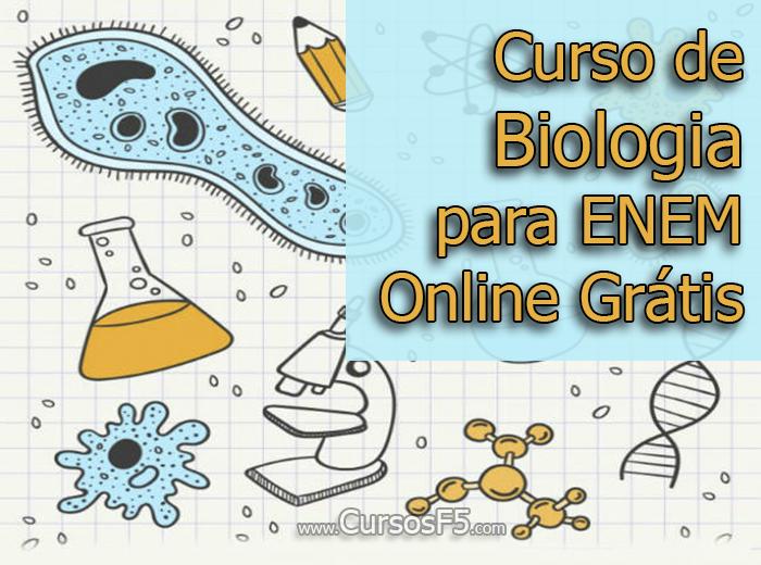 Curso de Biologia para ENEM Online Grátis