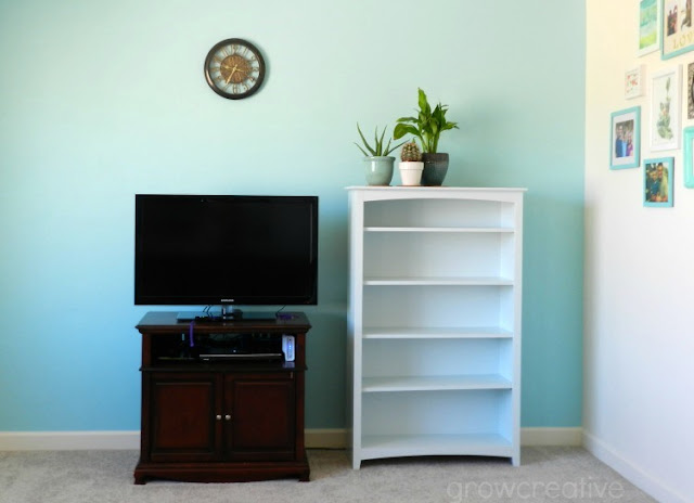 Ocean colors home decor: growcreativeblog