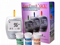 Easy Touch GCU : Alat Cek Gula Darah, Kolesterol dan Asam Urat 3 in 1 Harga Dibawah 300 Ribu
