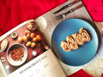 Krkonošská kuchařka (Danka Šárková) – bramborový toč