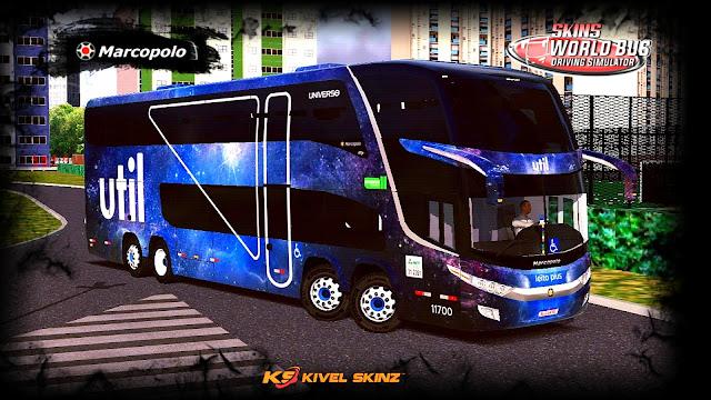PARADISO G7 1800 DD 8X2 - VIAÇÃO UTIL UNIVERSO (FICTÍCIA)