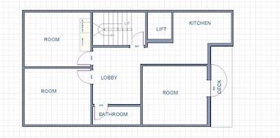 25 Gaj Makan Ka Naksha (25 Gaj House Map Design)   25 गज मकान का नक्शा - 3