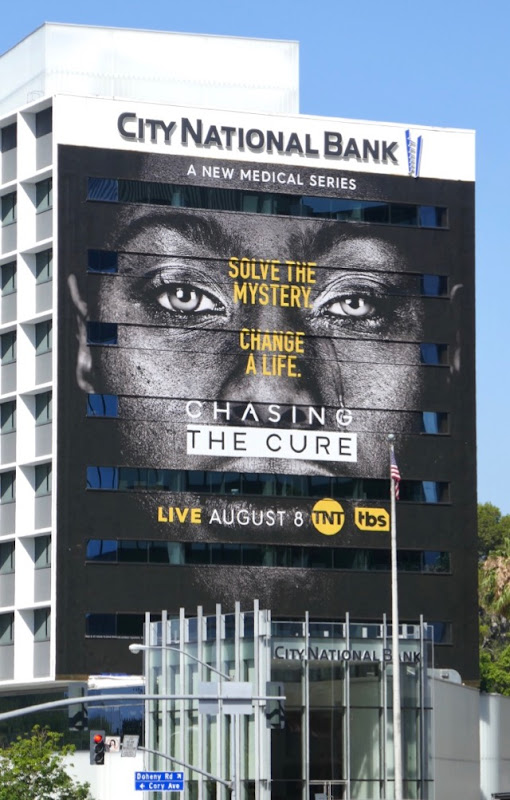 Giant Chasing the Cure series premiere billboard
