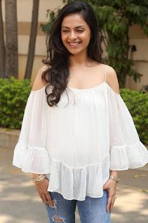 Actress Richa Pallod Pictures in Jeans at Malupu Success Meet  0029