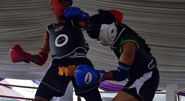 Pengcab Muay Thai Ciamis Gelar Seleksi Pra Kualifikasi Porda 2018