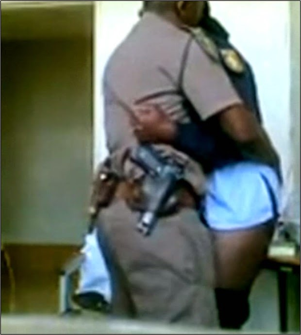 South African Police Man  Woman Got Fired After Their S3X -8411