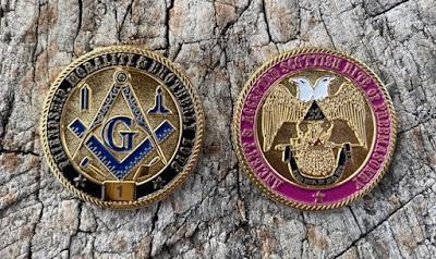 Masonic Scottish Rite 32nd Degree Limited Edition Challenge Coin