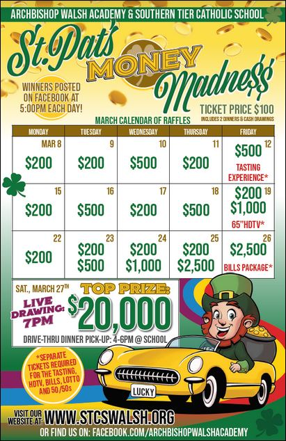St. Pat's Money Madness