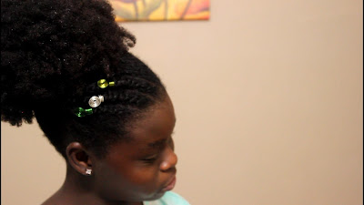 30 Minutes Wash Day for Natural Hair Kids Hairstyle ft. Naturalicious