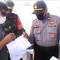 Petugas Gabungan Amankan 4 Penumpang Feri Bawa Surat Keterangan Hasil Rapid Test Palsu