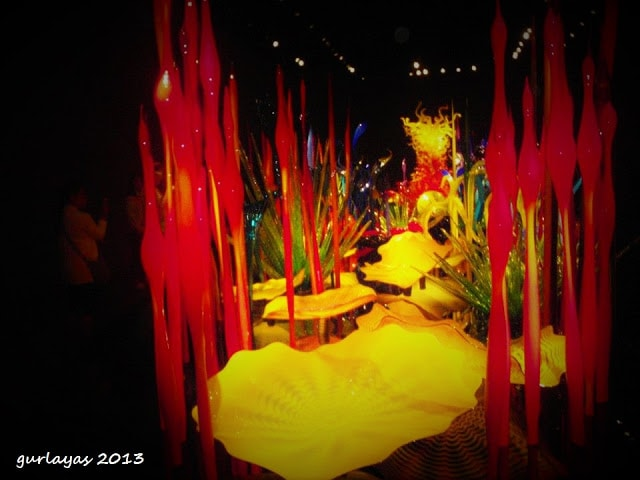 Flori of the sea by Chihuly | photo by gurlayas.blogspot.com
