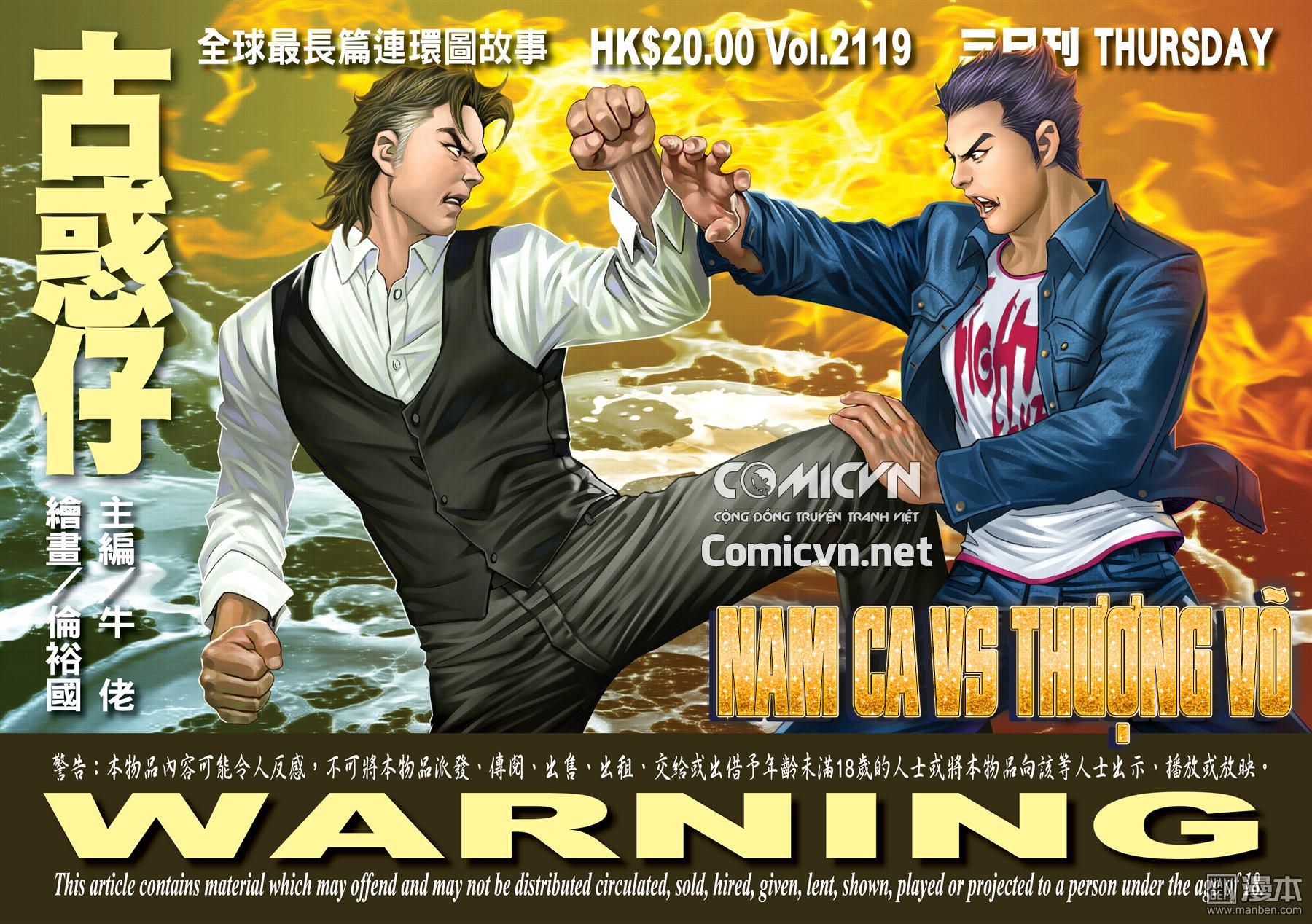 Người Trong Giang Hồ chapter 2119: nam ca vs thượng võ trang 1