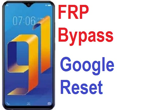 Google account FRP reset on Vivo V91i and 91c.
