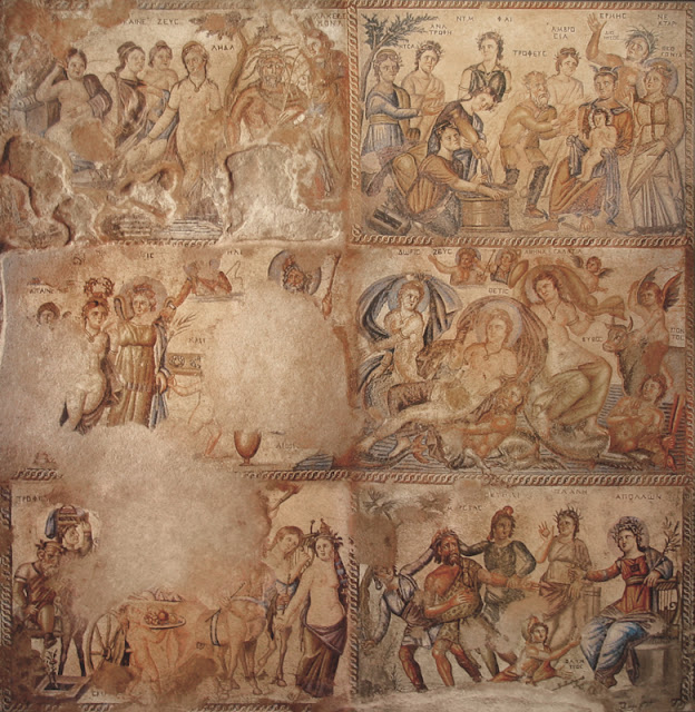 The Denouement of the Enigma of the Roman Mosaic from the House of Aion in Paphos