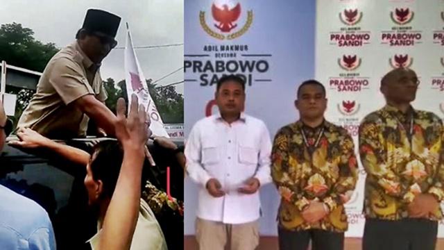 Pria yang Ditepak Prabowo Seorang Polisi, Minta Maaf soal Pengawalan