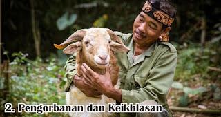 Pengorbanan dan Keikhlasan merupakan salah satu makna Idul Adha yang perlu diketahui