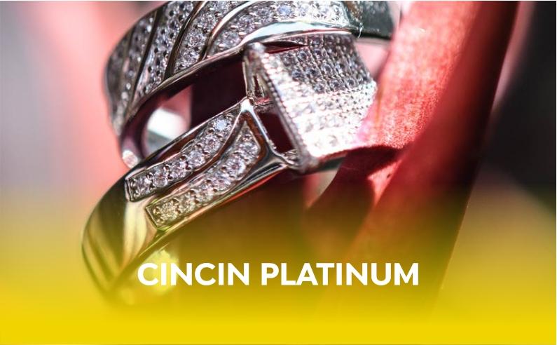 Cincin Bahan Platinum