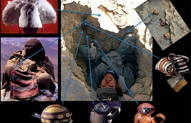 Argentine-Peruvian expedition, at an altitude of more than 6,000 meters, found a tomb near the Lyulagliaco volcano where the bodies of three children rested