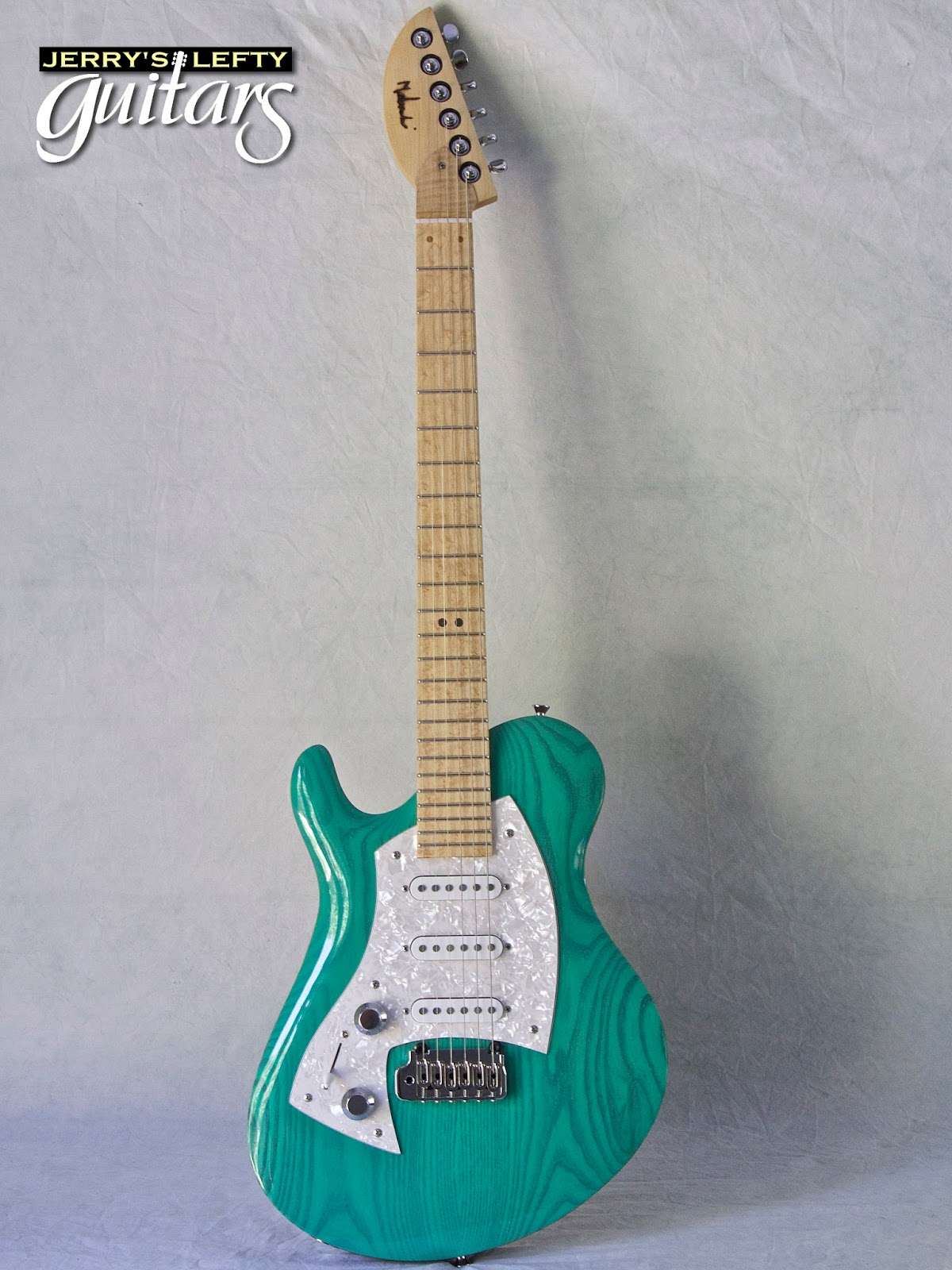 jerry 39 s lefty guitars newest guitar arrivals updated weekly malinoski rodeo 233 surf green. Black Bedroom Furniture Sets. Home Design Ideas