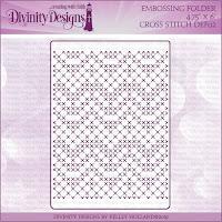 Divinity Designs Cross Stitch Embossing Folder