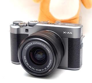 Jual Mirrorless Fujifilm X-A5