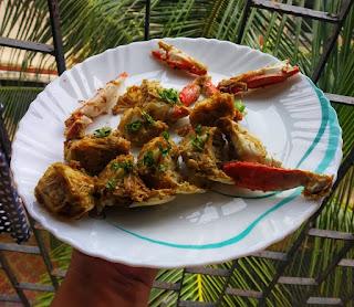 Butter garlic crab recipe