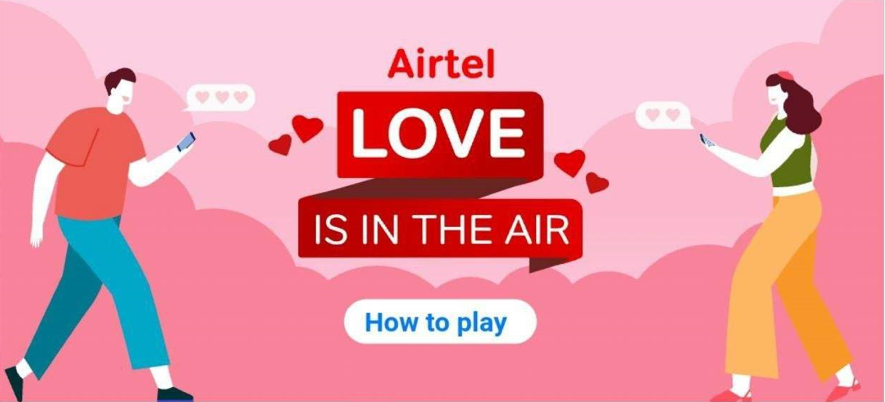 Airtel Love in The Air Offer: Collect Points & Win Amazon, BMS Vouchers
