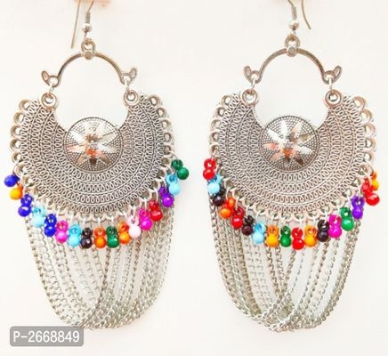 Alluring Oxidized Metal Earrings for women's