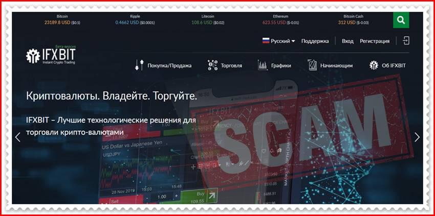 Мошеннический сайт ifxbit.com – Отзывы? Брокер IFXBIT мошенники! Информация