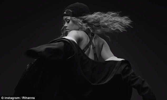Rihanna strips to a bra for sexy Puma ad