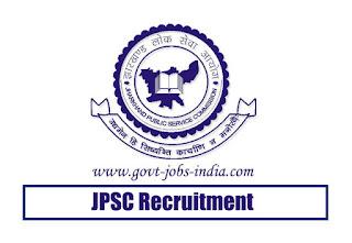 JPSC Non-Teaching Officer Recruitment 2020