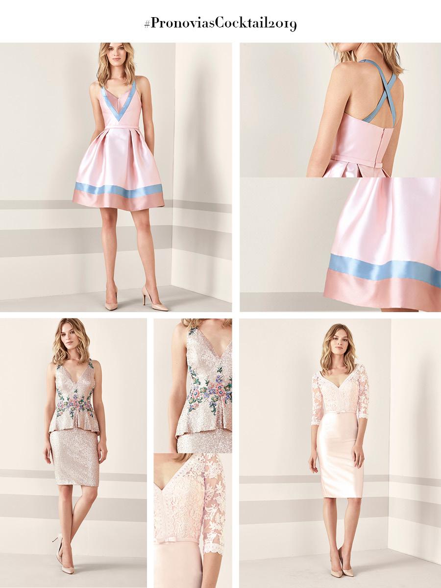 Vestidos cortos de fiesta pronovias 2019