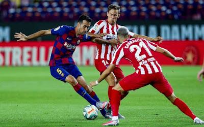Video Barcelona 2-2 Atletico: Messi cán mốc vĩ đại, sững sờ 3 quả 11m