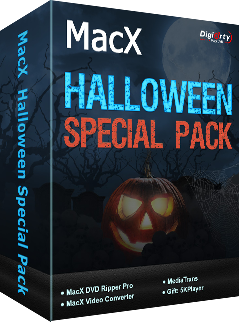 MacXDVD Halloween Special Pack Discount Coupon