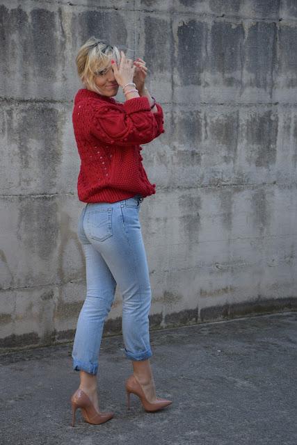 outfit jeans e tacchi abbinamento jeans e tacchi come abbinare jeans e tacchi outfit marzo 2017 mariafelicia magno fashion blogger colorblock by felym fashion blog italiani fashion blogger italiane blogger italiane