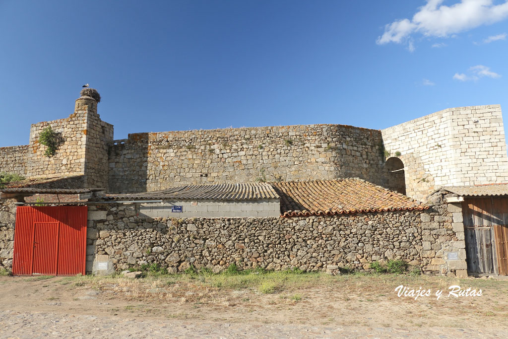 Castillo, San felices de los Gallegos