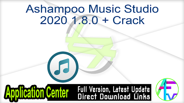 Ashampoo Music Studio 2020 1.8.0 + Crack