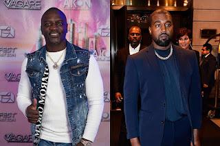 Kanye West & Akon 2024 US Presidential Candidates