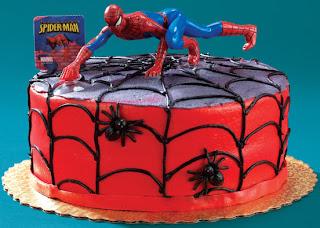 Spiderman Birthday Cake Designs