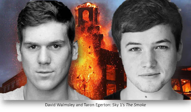 Taron Egerton David Walmsley The Smoke