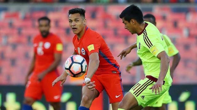 Bekuk Venezuela 3-1, Chile Geser Argentina