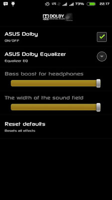Download dan Install Asus Dolby Equalizer for Zenfone 2, 4, 5, dan 6