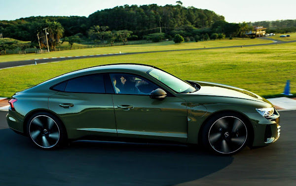 Audi RS e-tron GT, esportivo elétrico de R$ 950 mil