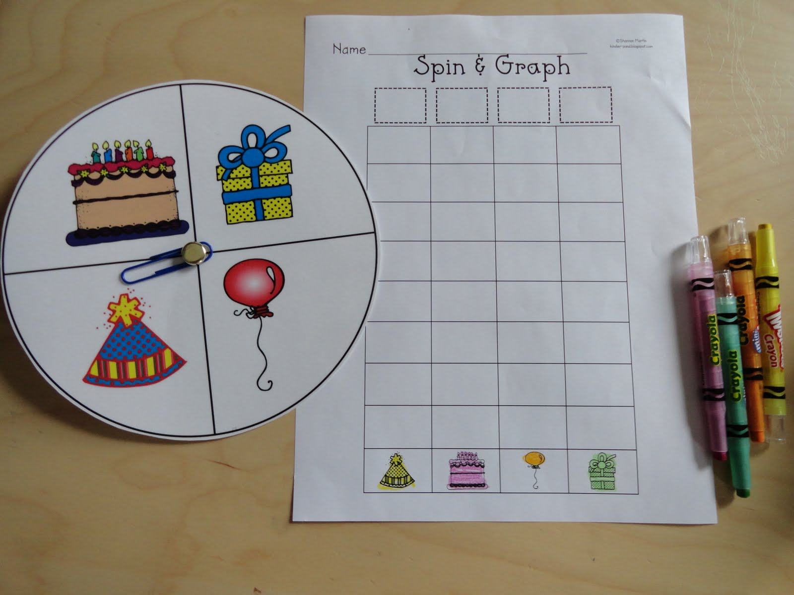 Izzie Mac And Me Math Activities If You Give A Pig A Party