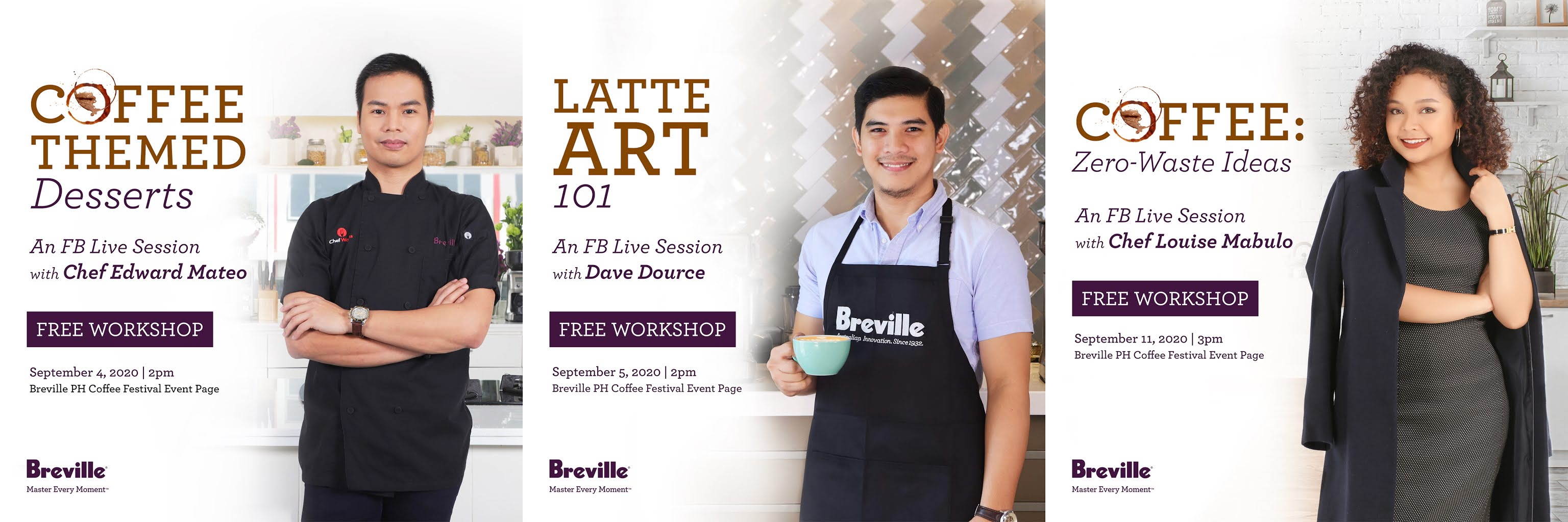Breville Philippines FB Live Sessions
