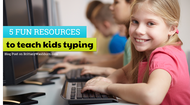 5 Fun Resources to Teach Kids Typing