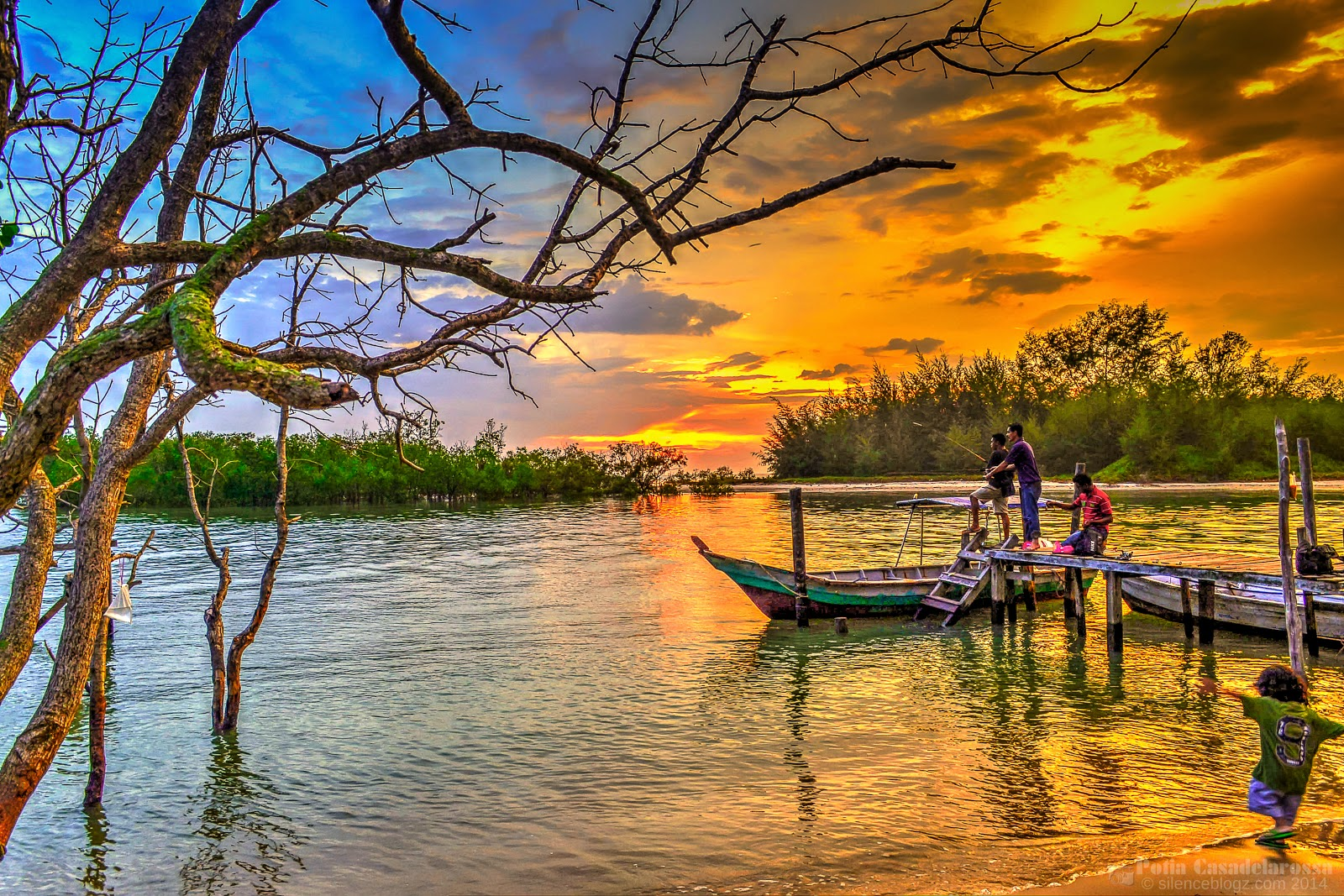 Sunset Pantai Bagan Lalang Selangor