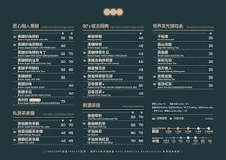 【珍煮丹】2019菜單/價目表