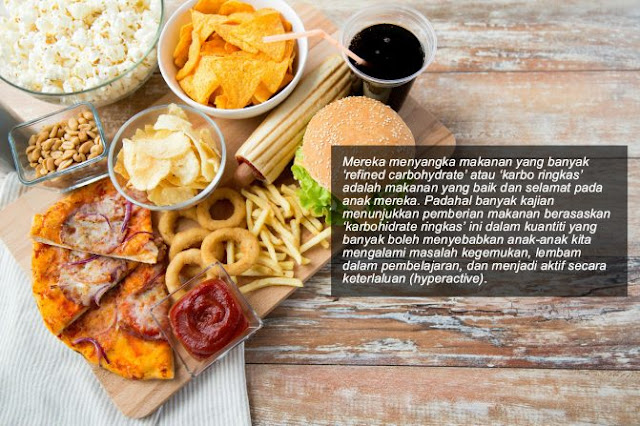 Suka Makan Makanan Karbo Ringkas & Jajan, Baca Dulu Penjelasan Fakta Dari Doktor Ini